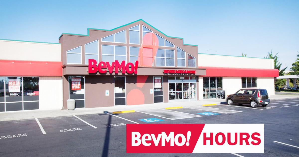 bevmo hours
