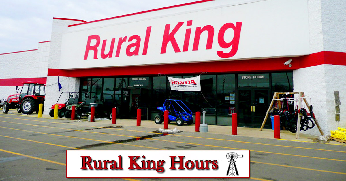 rural king hours