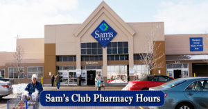 sams club pharmacy hours