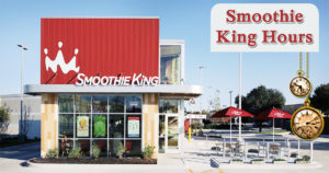 smoothie king hours