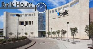 belk hours