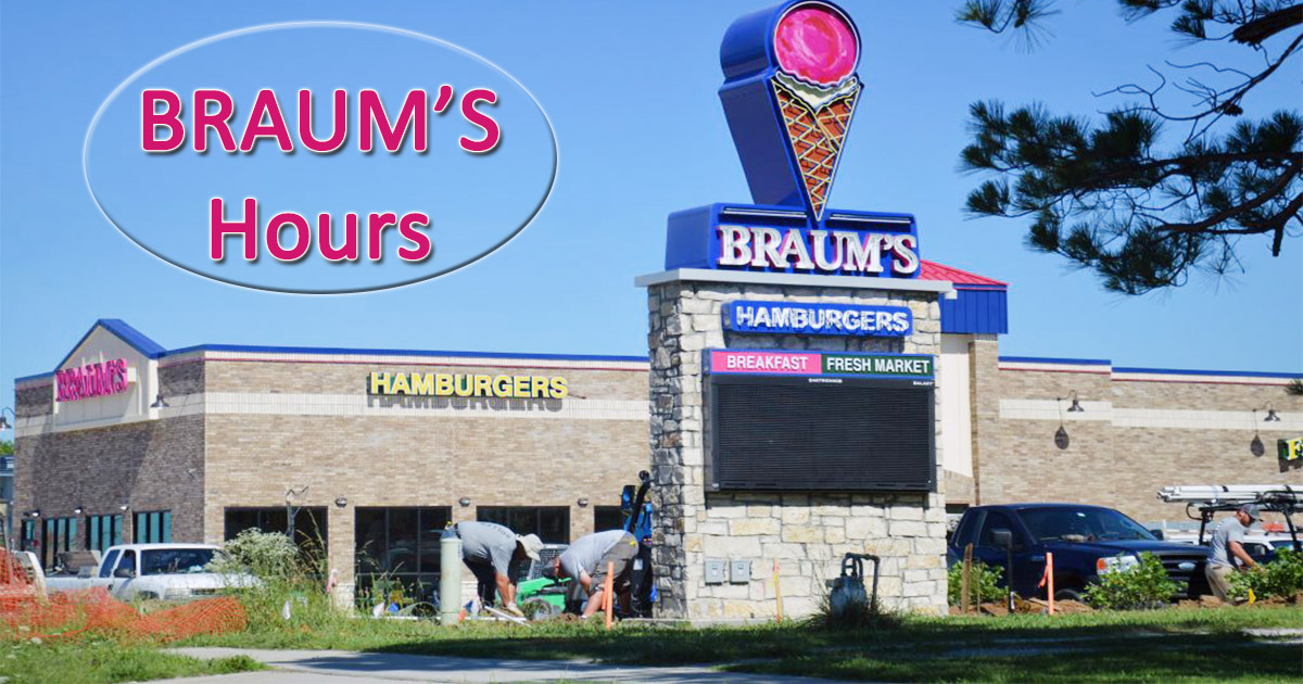 Braums Hours