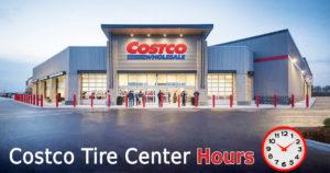 costco tire center hours