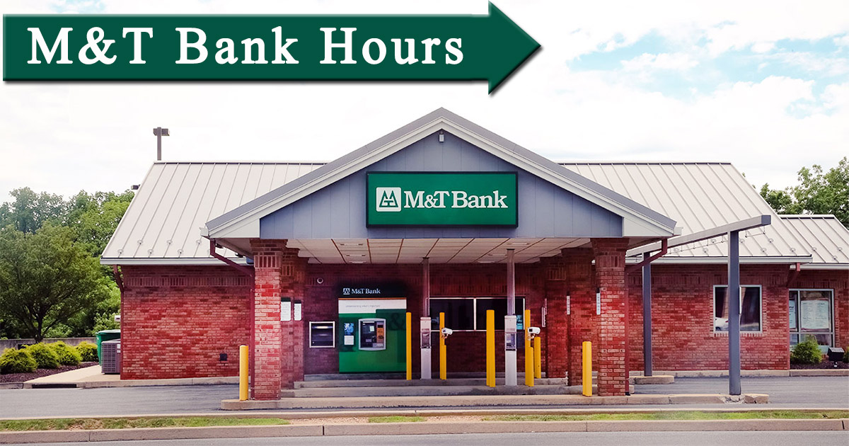 m&t bank hours