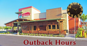 outback hours