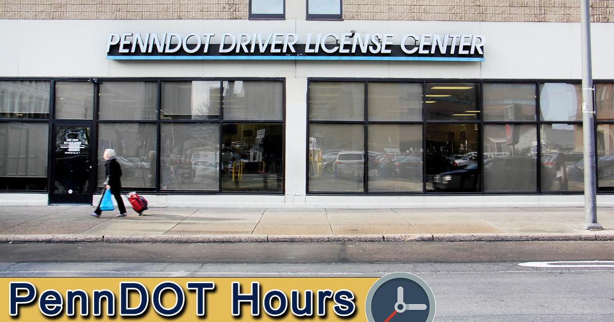 Penndot Hours