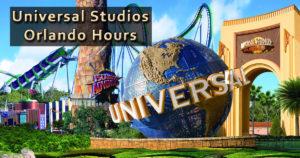 universal studios orlando hours