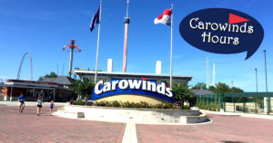 carowinds hours