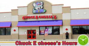 chuck e cheese hours