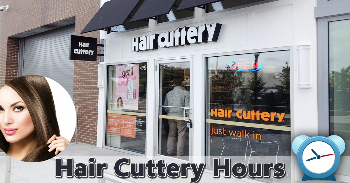 hair cuttery hours