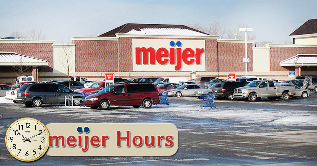 Is Meijer Open On Christmas 2019 Meijer Hours of Operation Today | Holiday Schedule, Open & Closed