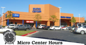 micro center hours