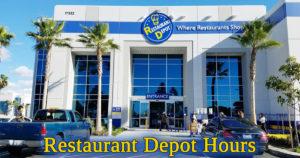 restaurant depot hours