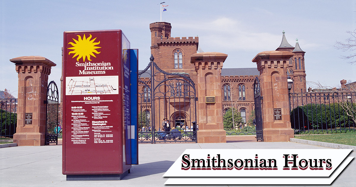 smithsonian hours