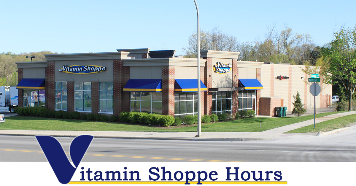 Vitamin Shoppe Hours