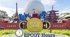 epcot hours
