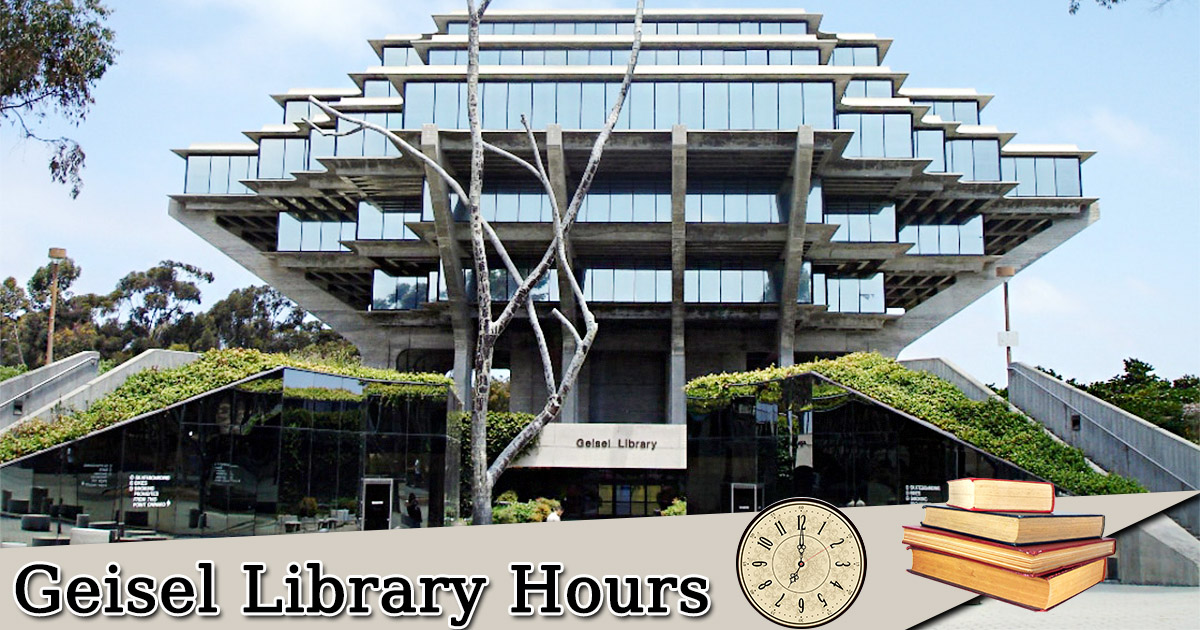 Geisel Library Hours