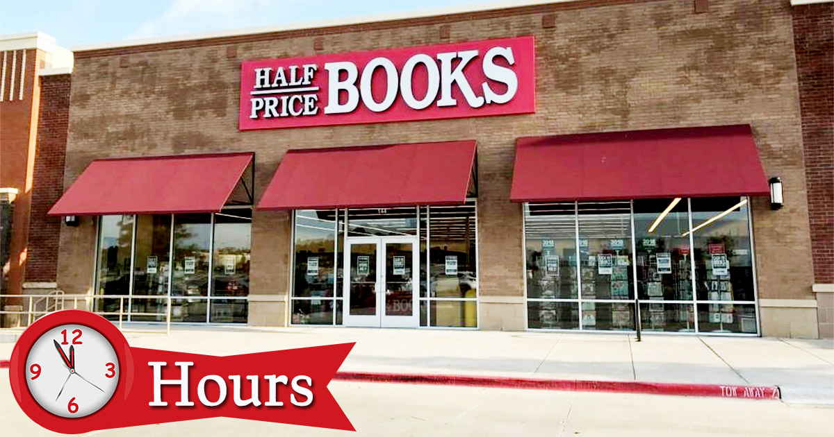 Half Price Books Hours