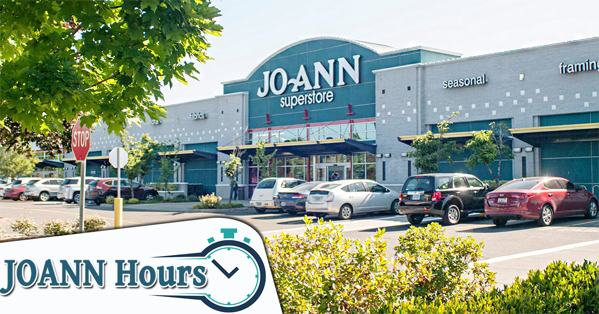 joanns hours