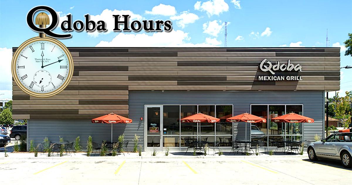 qdoba hours