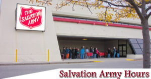 salvation army hours