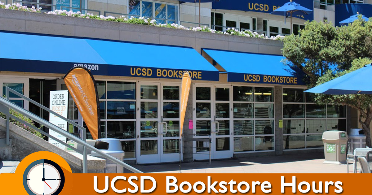 Ucsd Bookstore Hours
