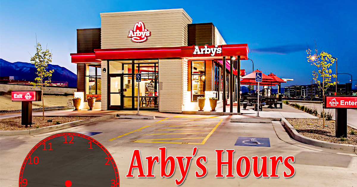 Arbys Hours