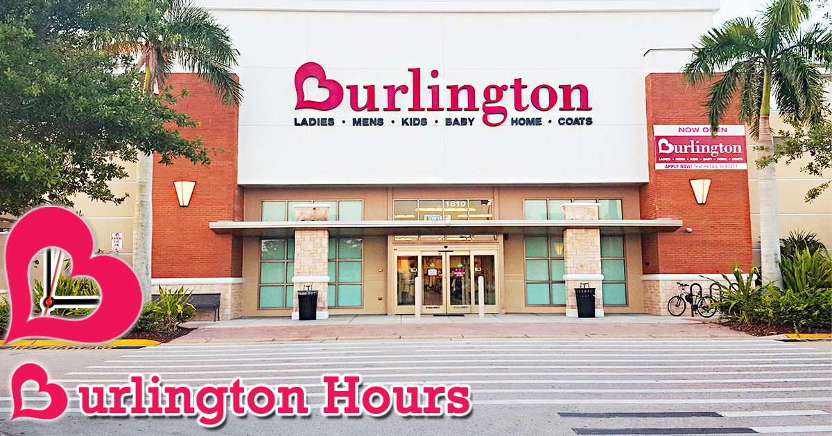 Burlington Hours