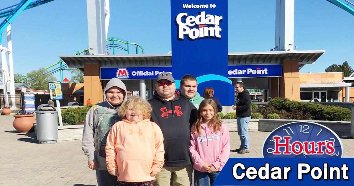 Cedar Point Hours