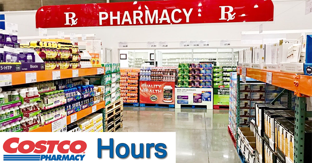 Costco Pharmacy Hours