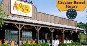 Cracker Barrel Hours
