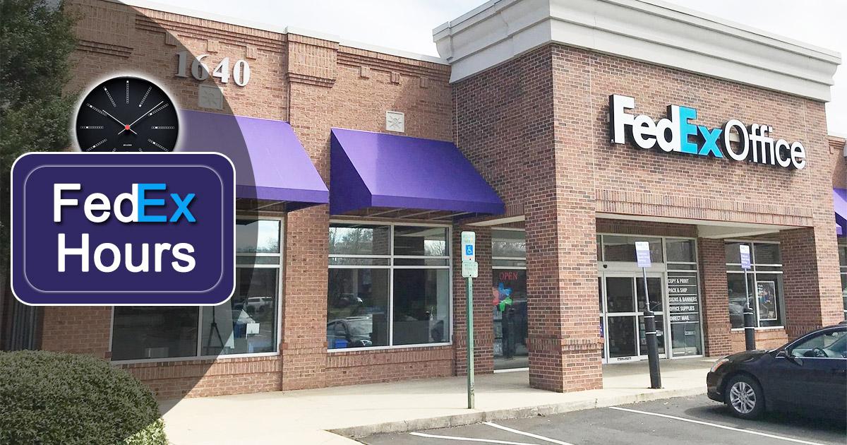 FedEx Hours