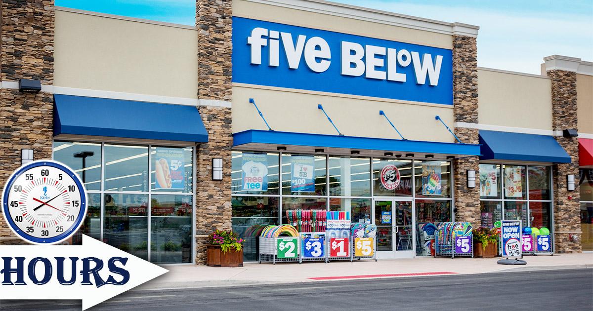 Five Below Hours