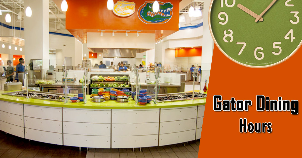 Gator Dining Hours
