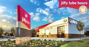 Jiffy Lube Hours