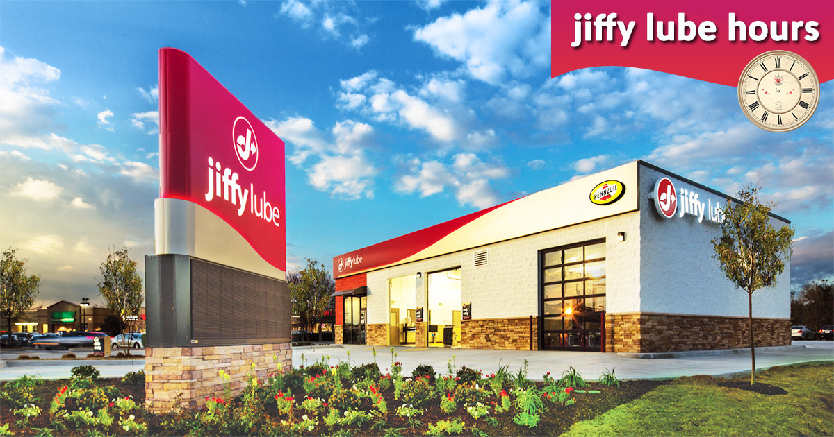 Jiffy Lube Hours