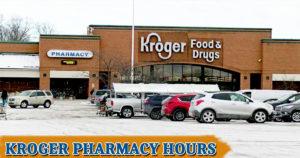 Kroger Pharmacy Hours
