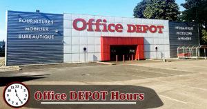 Office Depot Hours