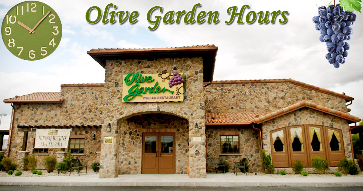 Olive Garden Hours Of Working Lunch Specials Hours Holidays List