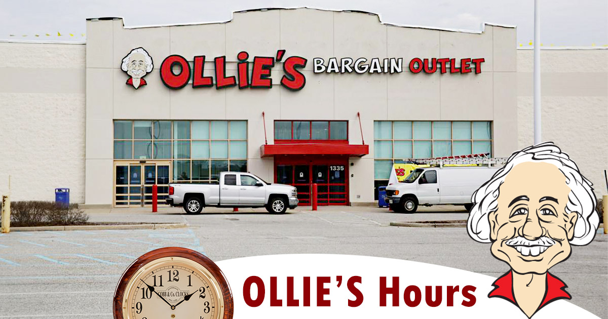Ollies Hours