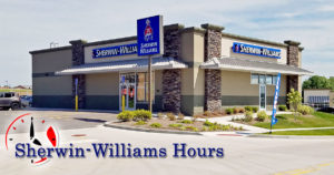 Sherwin Williams Hours