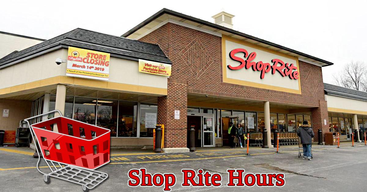 Shoprite Hours
