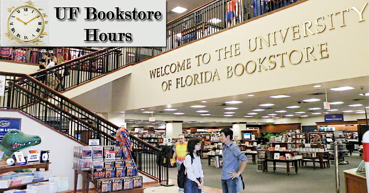 UF Bookstore Hours