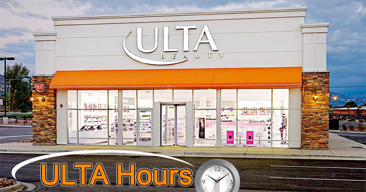 ULTA Hours