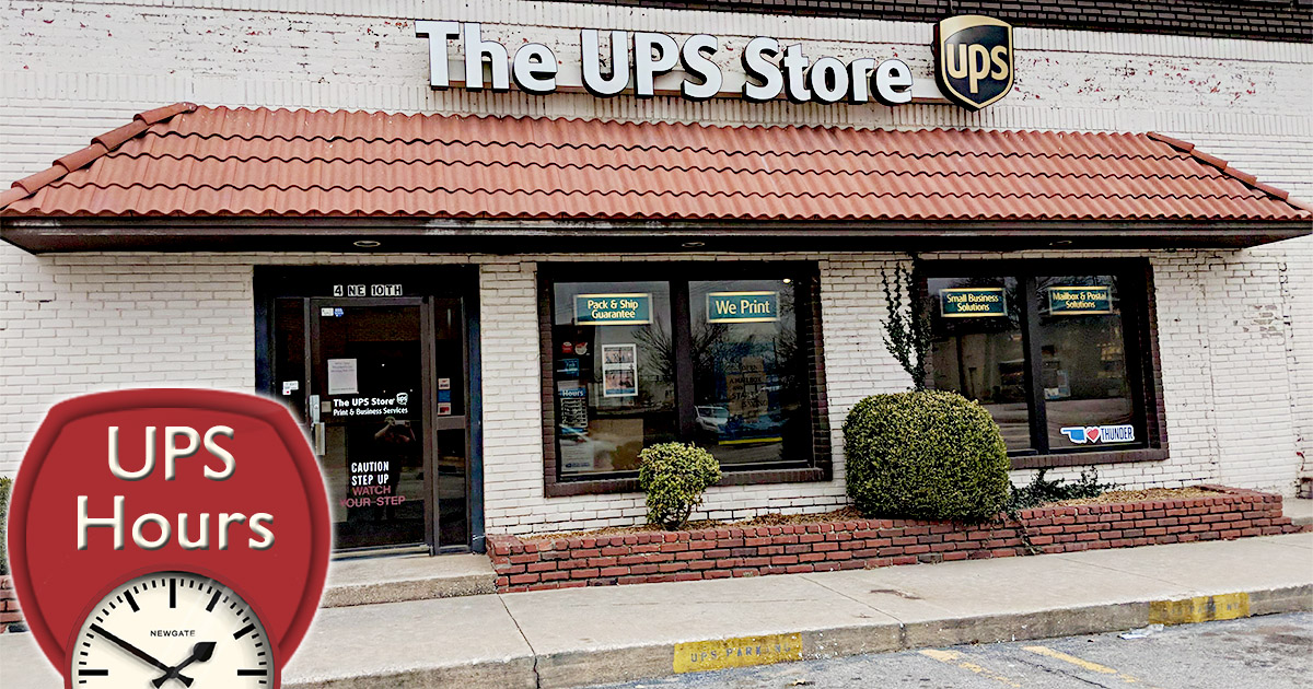 UPS Hours