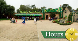 Busch Gardens Hours