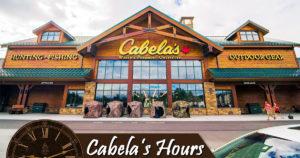 Cabelas Hours