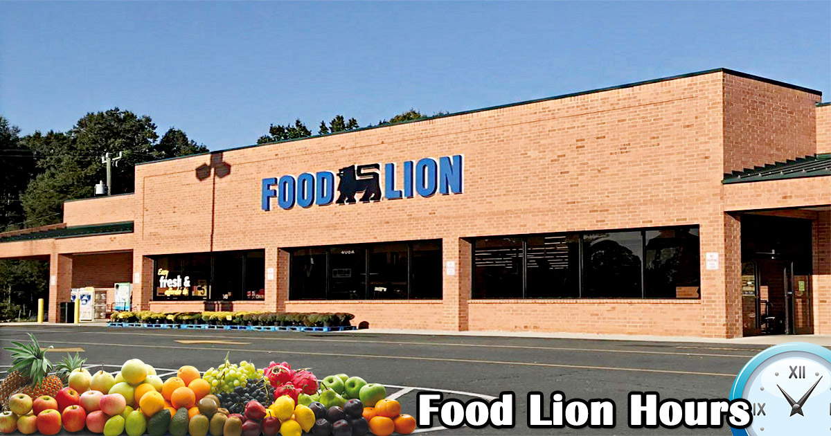 Food Lion Hours