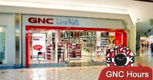 GNC Hours