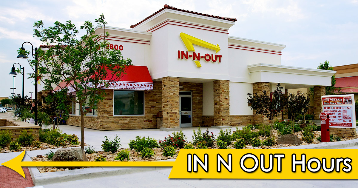 In N Out Hours